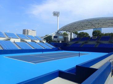 有明テニスの森公園の画像・写真