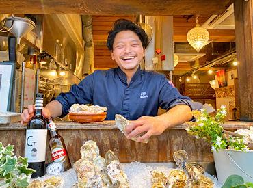 Oyster Bar MABUI 袋町店 の画像・写真