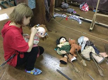 人形芝居かすぺるの画像・写真