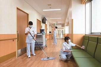 ワタキューセイモア東京支店 総務課90362[勤務地:紫雲会横浜病院] の画像・写真