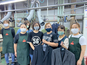 かなちゅうクリーニング 大和工場の画像・写真