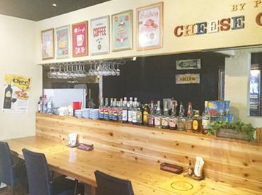 ピザ屋のチーズカフェの画像・写真