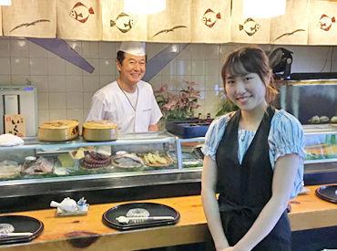 おひげ寿司の画像・写真