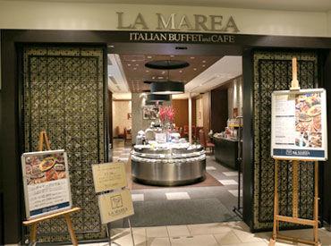イタリアンブッフェ&カフェ LA MAREA汐留店の画像・写真