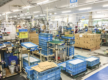 株式会社ユニックス 長者原出張所 ※LIXIL尾道工場内の画像・写真