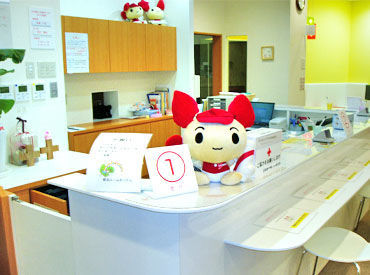 大分県赤十字血液センター ※勤務地:献血ルームわったんの画像・写真