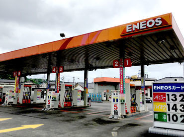 鶴崎海陸運輸株式会社 【勤務地:ENEOS マイセルフまき給油所】の画像・写真