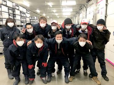 園田陸運株式会社 南九州物流センター ※冷凍倉庫内の画像・写真