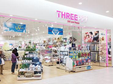THREEPPY エアポートウォーク名古屋店の画像・写真