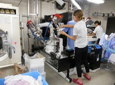 クリーニングショップたんぽぽ 川越御成町工場の画像・写真