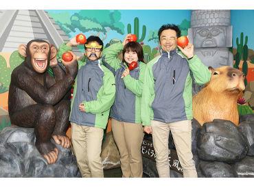 (株)文教スタヂオ ※勤務地:伊豆シャボテン動物公園の画像・写真