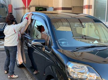 株式会社アトコ 車両サービス部門 洗車サービス課 愛知トヨタ 高辻営業所の画像・写真