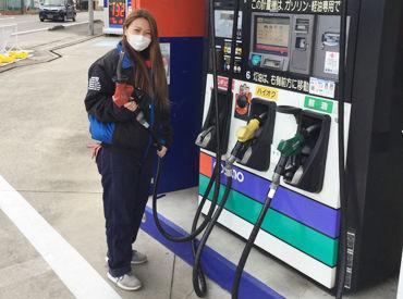 コスモ石油 セルフUステーションもりの画像・写真